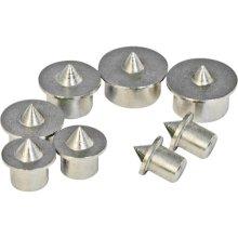 Silverline Dowel Centre Point Set 8pce 6 - 12mm