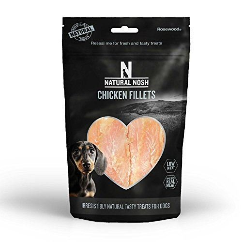 Natural Nosh Dog Treats - Chicken & Duck Fillets 100g