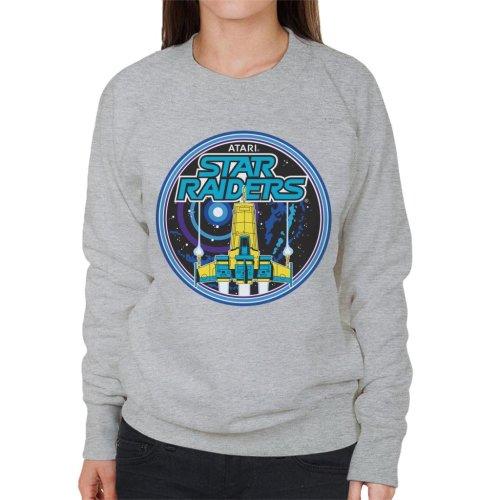 Atari Star Raiders Retro Women's Sweatshirt