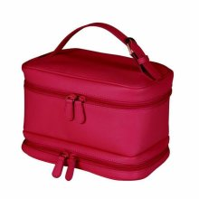 c761efd27928 Royce Leather Travel Cosmetic Makeup Toiletry Wash Bag in Genuine Leather