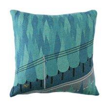 """Comfortable Throw Pillow Soft Pillow Back Cushion Sofa Cushion, 17.7""""x17.7"""", R"""