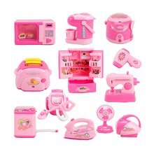 Set of 12 Mini Edition Lovely Home Appliances Model Toys Kids Play Toys