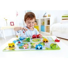 Hape Busy City Play Set E1022