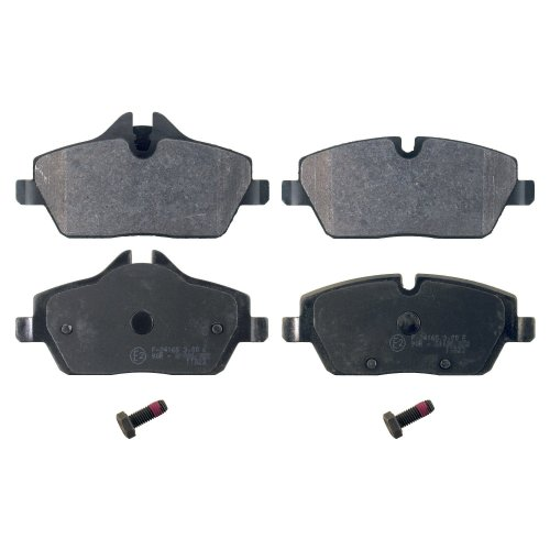 febi bilstein 16786 brake pads with screws (Set of 4) (front axle)