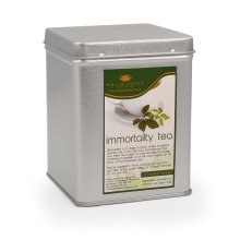 Jiaogulan Tea - Gynostemma Tea, White Lotus Pyramid Shaped Bags Jiao Gu Lan