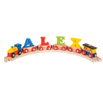 Bigjigs Rail Rail Name Letters and Numbers