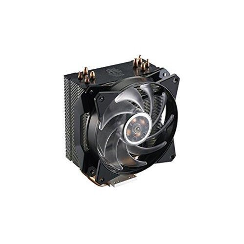 Cooler Master MasterAir MA410P RGB CPU-Kühler '4 Heatpipes, 1 x MasterFan AB 120 RGB Lüfter, RGB LED' MAP-T4PN-220PC-R1