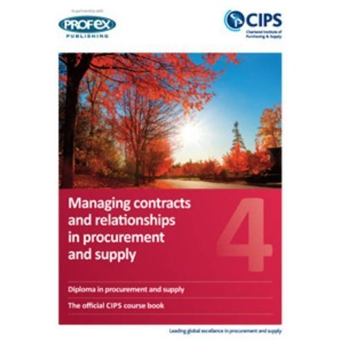 Contexts of Procurement and Supply: 4