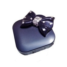 [BLACK Bowknot ] Special DIY Contact Lenses Box Case/Holders Storage Container