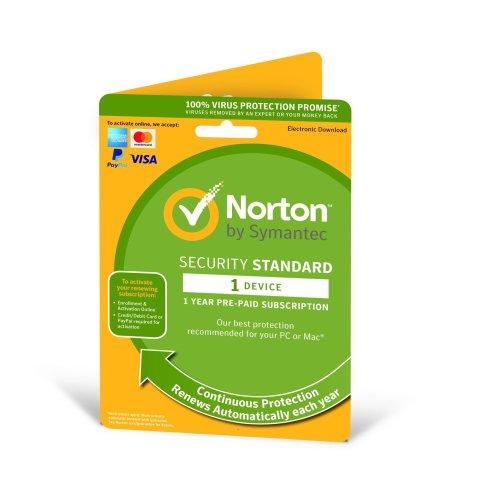 Norton Security Standard 2019 1 User & 1 Device - New Enrolment Version