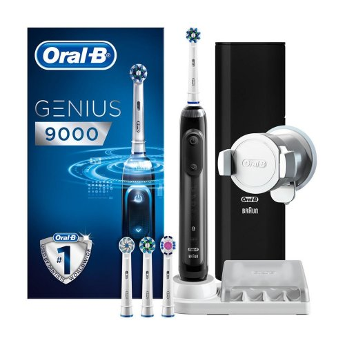 Oral-B Genius 9000 Electric Toothbrush 6 Speeds Bluetooth Black