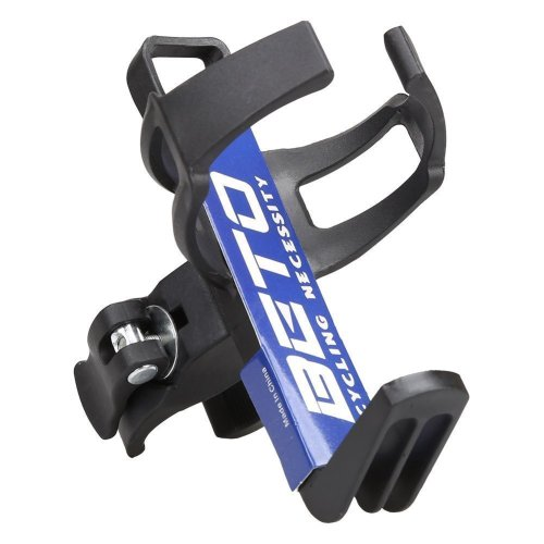 Lyauta Adjustable Bike Water Bottle Holder Mountain Road Bicycle Aluminum Bottle Cage Rack 360 Degree Rotating