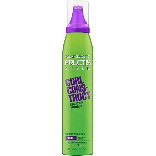 Garnier Fructis Style Curl Const Mousse 68 Ounce (XStrong) (201ml) (3 Pack)