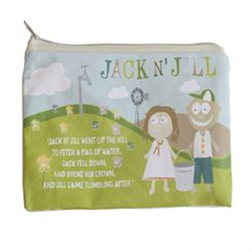Jack N Jill Jack N' Jill Sleepover Bag Natural Cotton