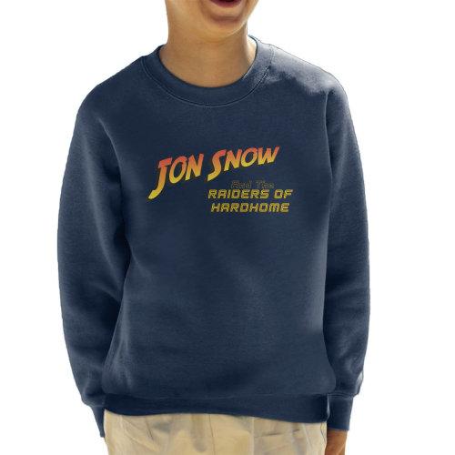 Jon Snow And The Raiders Of Hardhome Game Of Thrones Kid's Sweatshirt