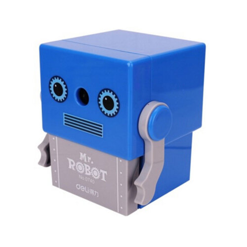 Quiet for Office,Pencil Sharpener, Home and School,Robot
