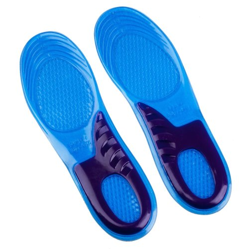 INSOLES UK SIZE 3 - 12 AVAILABLE FOR WORK BOOTS HIKING RUNNING TRAINERS FOOT SUPPORT HEEL SHOE INSERTS GEL MASSAGING … (6 - 9 UK Medium)