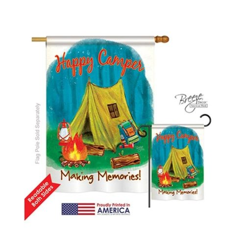 Making Memories 2-Sided Vertical Impression House Flag - 28 x 40 in.