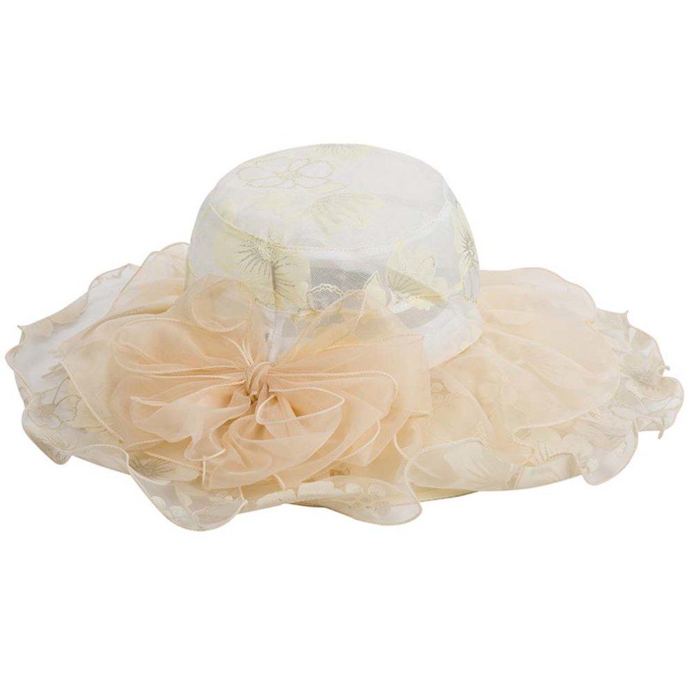 e0595f0bbe3 Beach Lace Hat sub Ms. Sun Hat Summer Travel Straw Hat Cloth Folding UV ...