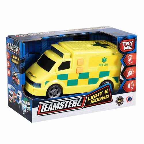 Teamsterz Small Light and Sounds Ambulance
