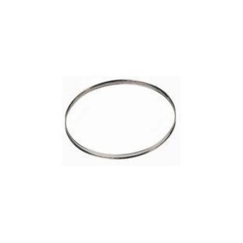 De Buyer 3091.06N Circular Tart Frame Stainless Steel, Rolled Edge, Diamètre 20 cm