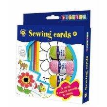 Pbx2471165 - Playbox - Craft Set, Sewing Cards