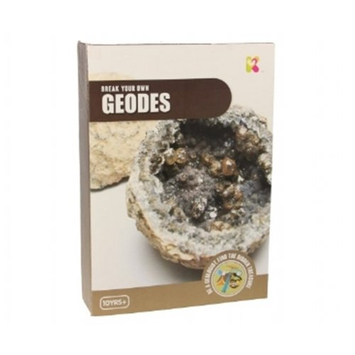 Science and Discovery Kit Break Your Own Geodes