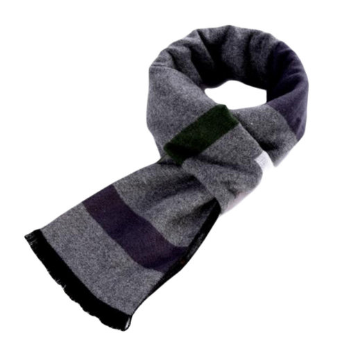 Soft Fashion Man Scarf Warm Snood Scarves Business Gift-A06