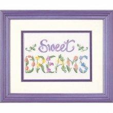D06235 - Dimenions Mini Crewel - Flowery Sweet Dreams