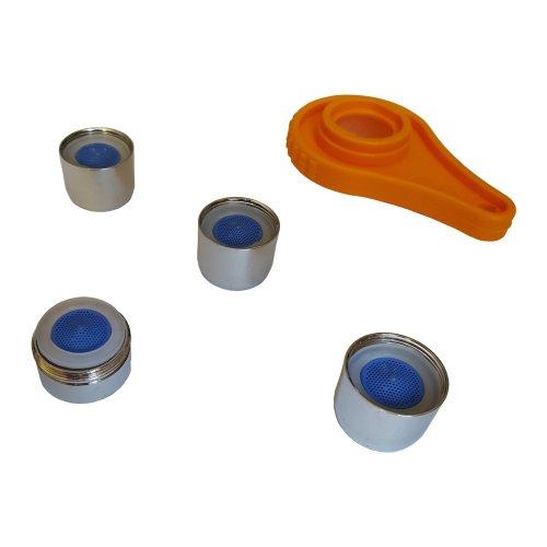 Bathroom & Kitchen Tap Set Kit Aerators 1xm24mm + 3xf22m + Opening Tool
