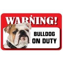 Bulldog Pet Sign
