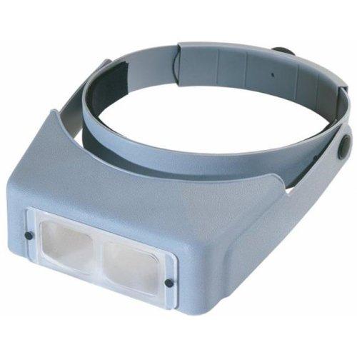 OptiVISOR LX Binocular Magnifier-Lensplate #4 Magnifies 2x At 10''
