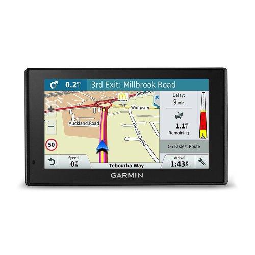 Garmin DriveSmart 50LMT-D Satellite Navigation with Western Europe Lifetime Maps and Traffic - 5 inch, Black
