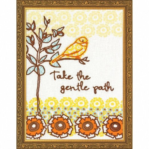 D72-73575 - Dimensions Handmade Embroidery - the Gentle Path