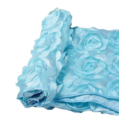 Newborn Photography Props Baby Photography Rose Mat [Blue]