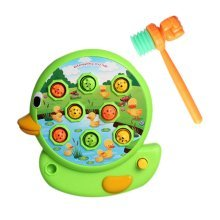 Playing HItting Hamster Inspire Kids Brain and Hands Development, 20*22*5cm/E