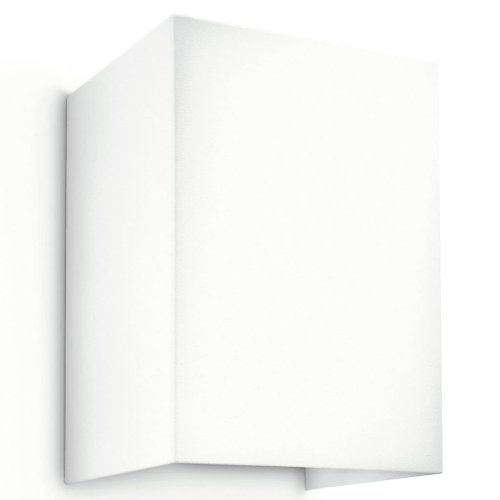 Philips LED Wall Light Hopsack White 3 W 333113116