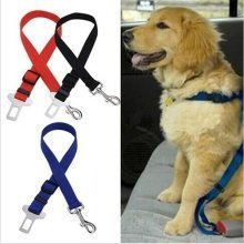Dog Car Seat Belt Vehicle Safety Restraint Harness Leash Travel Pets