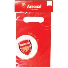 Arsenal Party Lootbags - Fc Amscan Aresnal 8piece Accessory Celebration -  party arsenal fc lootbags amscan aresnal 8piece accessory Arsenal Party