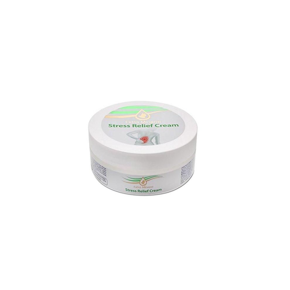 Extra Mineral Dead Sea Stress Relief Cream 4.7 Fl Oz 140 ML