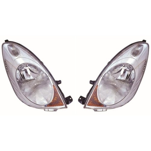 Nissan Note 2006-2009 Headlights Headlamps 1 Pair O/s & N/s