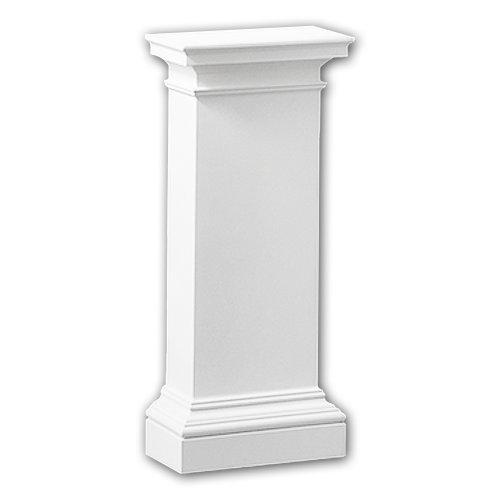 Profhome118003 Half column pedestal Column Deco  element