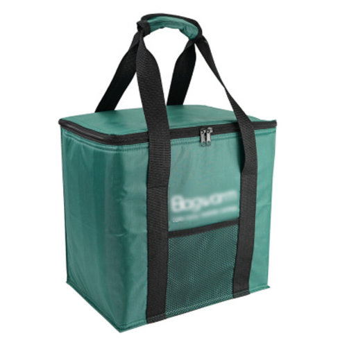 Outdoor Picnic Bag  Large Soft Cooler Insulated Picnic Lunch  Bag for Grocery, Camping, Car, #O