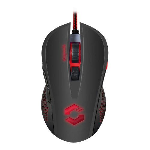 SPEEDLINK Torn 3200dpi Illuminated Gaming Mouse, Black (SL-680008-BKBK)