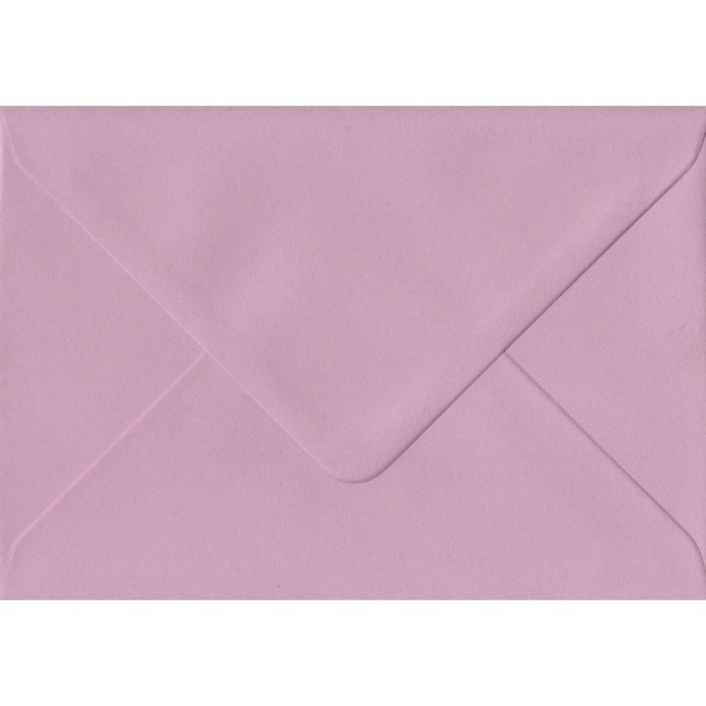 Dusky Pink Gummed Gift Place Card Coloured Envelopes 100gsm Fsc Sustainable Paper 70mm X 110mm Banker Style Envelope On