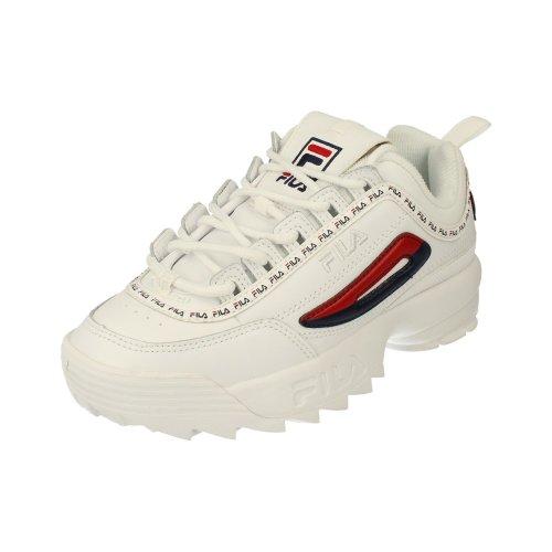 fb9404d84a Fila Disruptor II Premium Repeat Womens Running Trainers 5Fm00079 Sneakers  Shoes