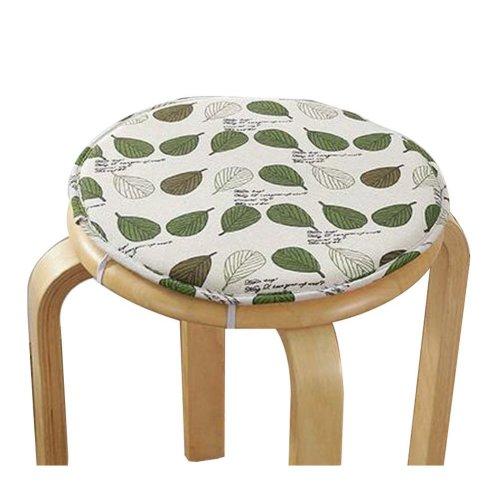 [I] Soft Round Stool Cover Bar Stool Seat Pad