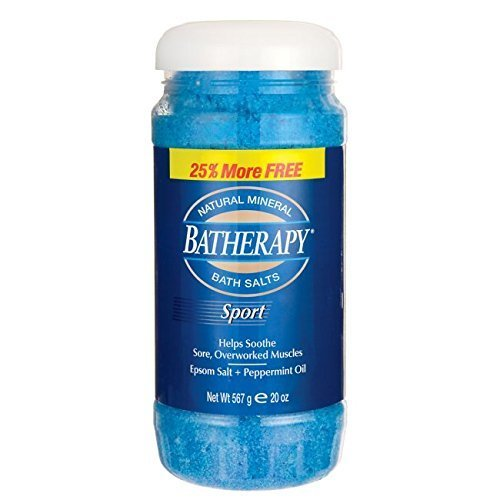 Queen Helene Batherapy Sport Natural Mineral Bath Salts 20 oz (567 g) Pwdr
