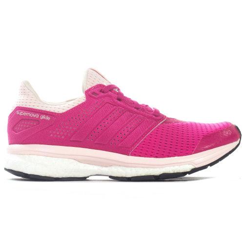 adidas Supernova Glide 8 Boost Womens Running Trainer Shoe Pink
