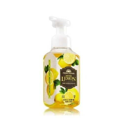 Bath and Body Works Meyers Lemon Gentle Foaming Hand Soap- Fresh Picked